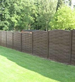 Cl ture b ton imitation bois r alisations avantages prix - Cloture jardin en beton orleans ...