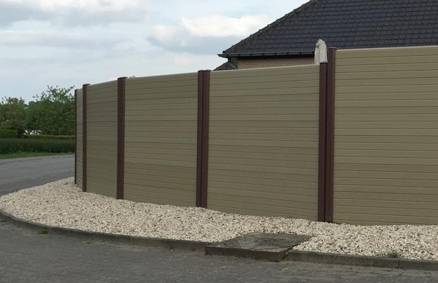 Des palissades composites ex cutions et prix - Palissade composite pas cher ...