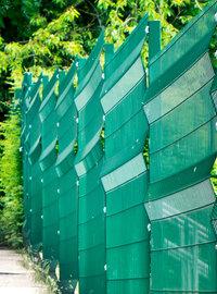 fil de cloture vert