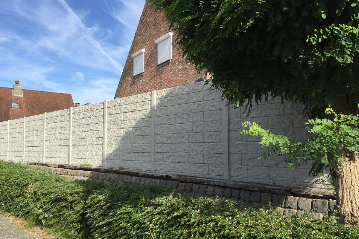 prix cloture en beton