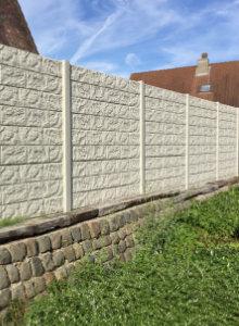 Placer Une Clôture En Béton Possibilités Et Leurs Prix - Cloture de jardin en beton prix