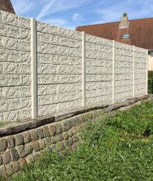 panneaux beton motif